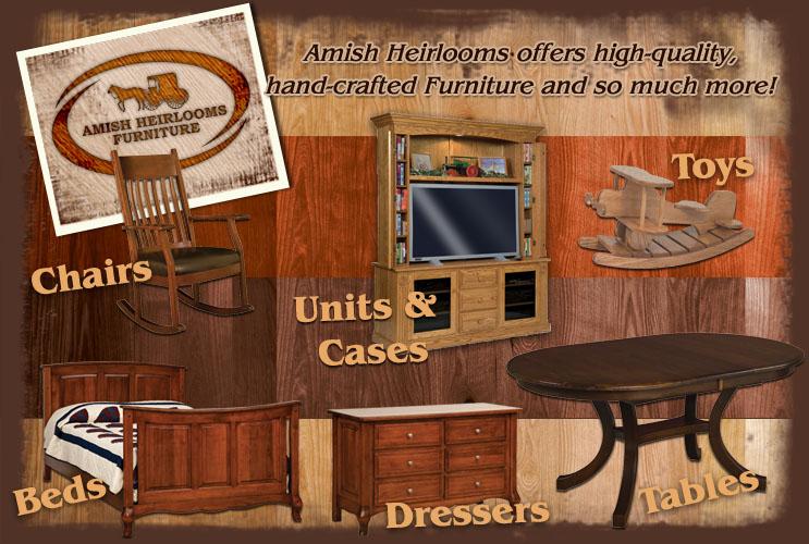 Information station amish heirlooms furniture
