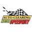 Auto Clearing Motor Speedway Logo