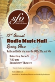 SFO: 13th Annual Radio Music Hall Spring Show